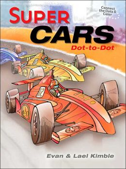 Super Cars Dot-to-Dot