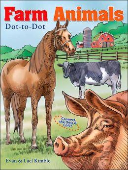 Farm Animals Dot-to-Dot