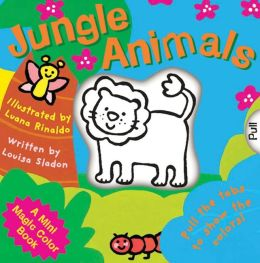 Jungle Animals (A Mini Magic Color Book Series)