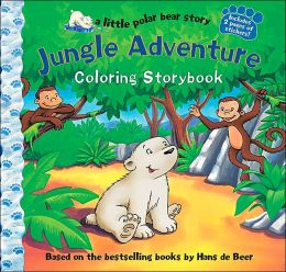 Little Polar Bear: Jungle Adventure Coloring Storybook