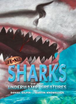 Life-Size Sharks and Other Underwater Creatures