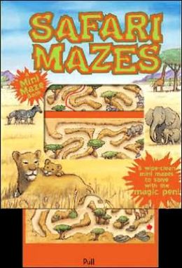 Mini Magic Mazes: Safari Mazes