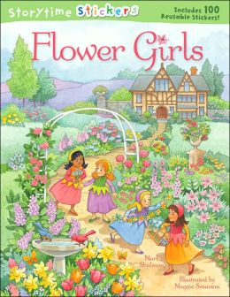 Storytime Stickers: Flower Girls