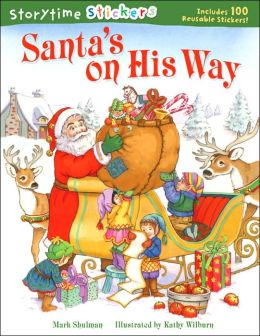Storytime Stickers: Santa's on His Way