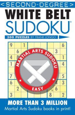 Second-Degree White Belt Sudoku®