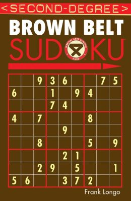 Second-Degree Brown Belt Sudoku
