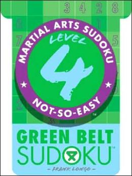 Martial Arts Sudoku Level 4: Green Belt Sudoku
