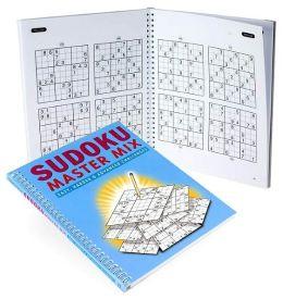 Sudoku Master Mix: Easy, Medium & Hard Puzzles