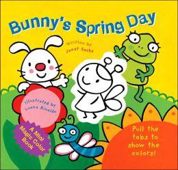 A Mini Magic Color Book: Bunny's Spring Day