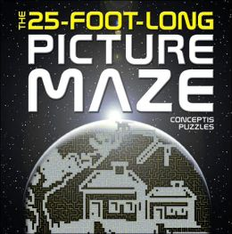 25-Foot-Long Picture Maze