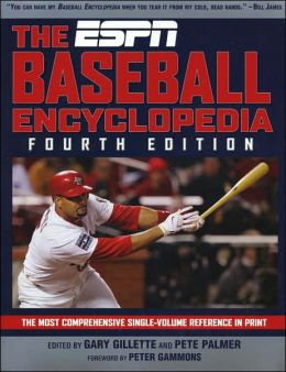 ESPN Baseball Encyclopedia, Fourth Edition
