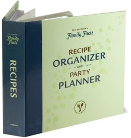 Family Facts Recipe Organizer & Party Planner