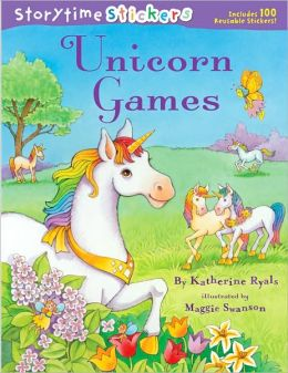 Unicorn Games (Storytime Stickers Series)