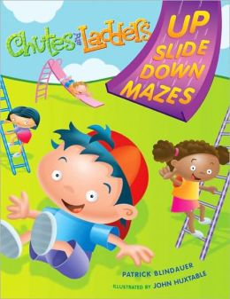 Chutes and Ladders: Up-Down Slide Mazes