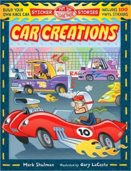 Put 'Em Together Sticker Stories: Car Creations