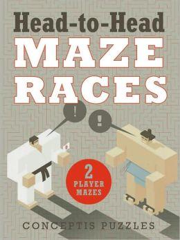 Head-to-Head Maze Races: 2-Player Mazes