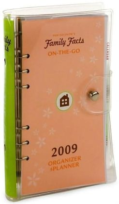 2009 Family Facts On-the-Go Organizer & Planner Calendar