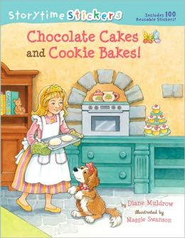 Storytime Stickers: Chocolate Cakes and Cookie Bakes!