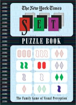 The New York Times Set Puzzle Book: The Family Game of Visual Perception