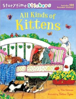 Storytime Stickers: All Kinds of Kittens