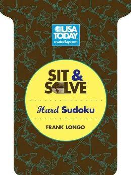 USA TODAY Sit & Solve Hard Sudoku