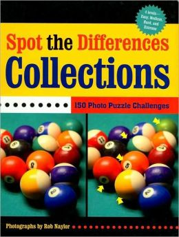 Spot the Differences: Collections: 150 Photo Puzzle Challenges