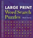 Book Cover Image. Title: Large Print Word Search Puzzles, Author: Mark Danna
