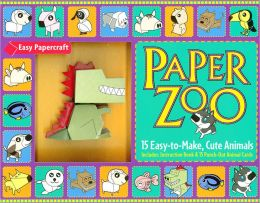 Paper Zoo: 15 Easy-to-Make, Cute Animals