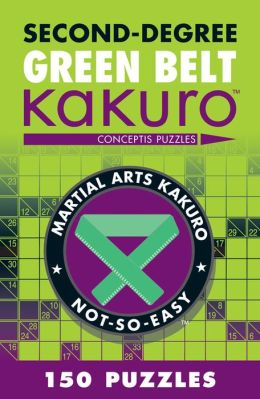 Second-Degree Green Belt Kakuro