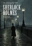 Book Cover Image. Title: The Adventures and the Memoirs of Sherlock Holmes, Author: Arthur Conan Doyle