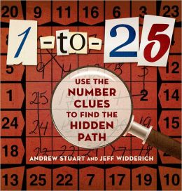 1-to-25: Use the Number Clues to Find the Hidden Path