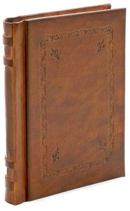 Giglio Brown Italian Leather Journal (with Amalfi Endpapers) 6x8