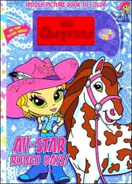 Lisa Frank All-Star Rodeo Days!: Hidden Picture Book to Color