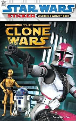 Star Wars the Clone Wars [With Stickers]