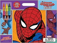 The Amazing Spider-Man Artist Pad: Spinning Into Action! [With 3 Crayons]