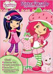 Strawberry Shortcake Sticker Dress Up