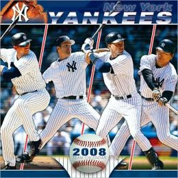 2008 MLB New York Yankees Wall Calendar