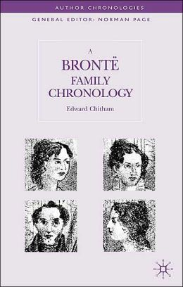 Bronte Family Chronology