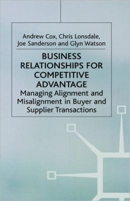 Business Relationships For Competitive Advantage