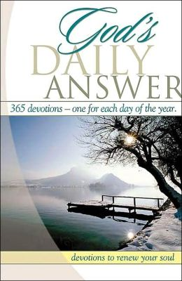 God's Daily Answer Devotional