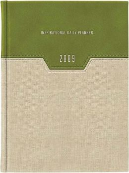 2009 Inspirational Daily Planner (Green. Linen): Everyday Wisdom