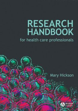 Research Handbook for Health Care Professionals