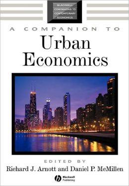 A Companion to Urban Economics