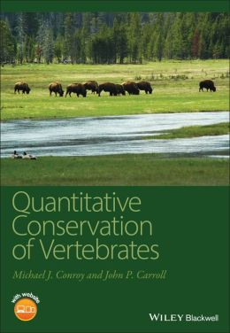 Quantitative Conservation of Vertebrates [With CDROM]