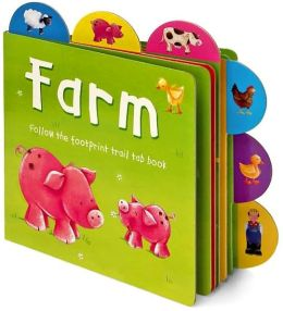 Farm: Follow the Footprint Trail Tab Book