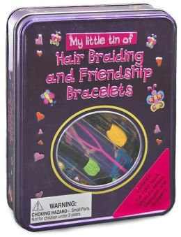 My Little Tin of Hair Braiding and Friendship Bracelets