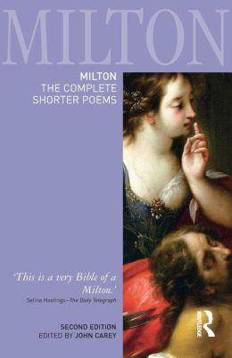 Milton: The Complete Shorter Poems