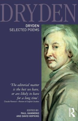 Dryden: Selected Poems