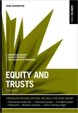 Equity & Trusts, 2nd UK edition