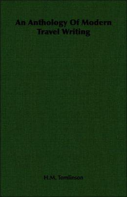 Anthology of Modern Travel Writing